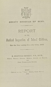 Cover of: [Report 1919]