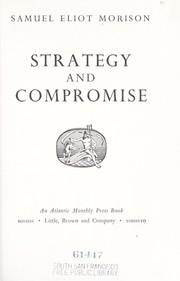 Cover of: Strategy and compromise