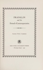 Cover of: Franklin and his French contemporaries