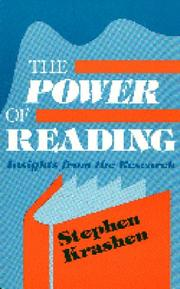 Cover of: The power of reading