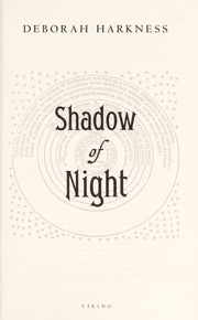Cover of: Shadow of Night