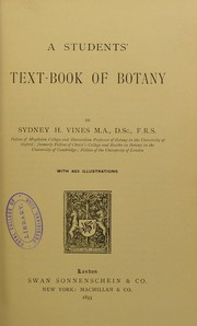 Cover of: A students' text-book of botany