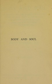 Cover of: Body and soul