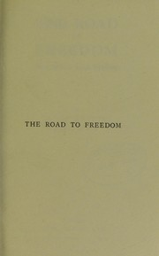 Cover of: The road to freedom and what lies beyond