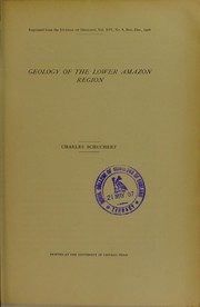 Cover of: Geology of the lower Amazon region