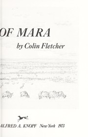Cover of: The winds of Mara