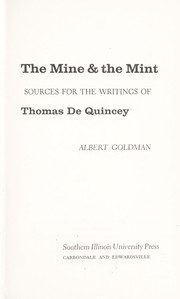 Cover of: The mine & the mint