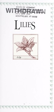 Cover of: Lilies