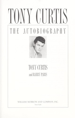 Tony Curtis by Curtis, Tony