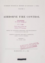 Cover of: Airborne fire control