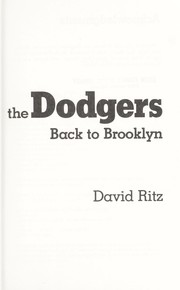 Cover of: The man who brought the Dodgers back to Brooklyn