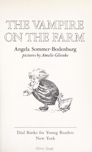 Cover of: The vampire on the farm