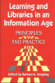 Cover of: Learning and Libraries in an Information Age