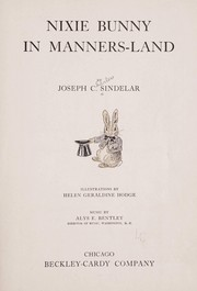 Cover of: Nixie Bunny in Manners-land