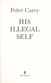 Cover of: His illegal self