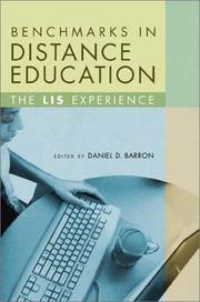 Cover of: Benchmarks in Distance Education | Daniel D. Barron