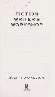 Fiction writer's workshop