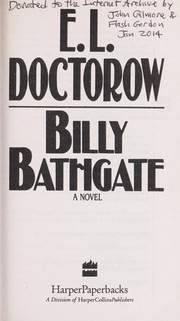 Cover of: Billy Bathgate M/TV