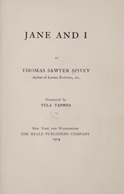 Cover of: Jane and I