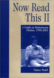 Cover of: Now Read This II