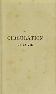 Cover of: La circulation de la vie