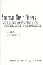 Cover of: American music makers : an introduction to American composers |