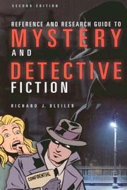 Cover of: Reference and Research Guide to Mystery and Detective Fiction Second Edition (Reference Sources in the Humanities)