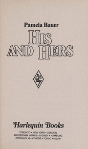 Cover of: His and Hers (Western Lovers: Ranchin' Dads #14)