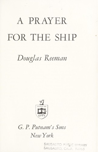 A prayer for the ship.