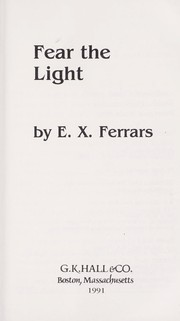Cover of: Fear the light