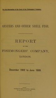 Oysters and other shell fish