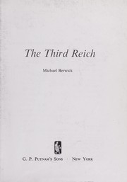 Cover of: The Third Reich. | Michael Berwick