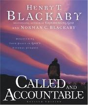 Cover of: Called & Accountable | Henry T. Blackaby