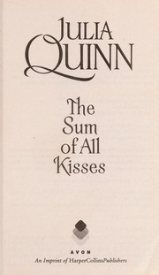 Cover of: The sum of all kisses