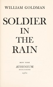 Cover of: Soldier in the rain