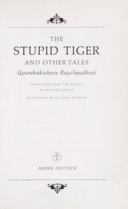 Cover of: The stupid tiger and other tales