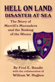 Cover of: Hell On Land Disaster At Sea | Fred E. Randle