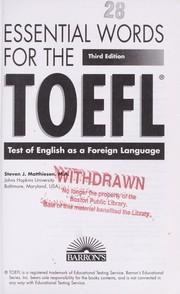 TOEFL IBT Practice Test | Free TOEFL Practice Exam ...