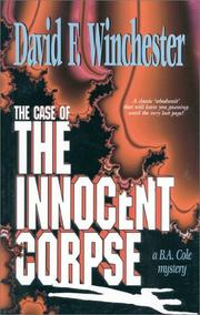 Cover of: The innocent corpse