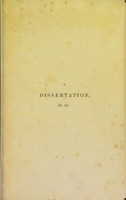 Cover of: A dissertation on the treatment of morbid local affections of nerves ...