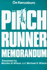 Cover of: The Pinch Runner Memorandum
