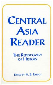 Cover of: Central Asia Reader