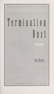 Cover of: Termination dust