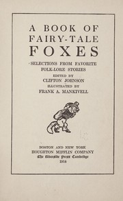 A book of fairy-tale foxes