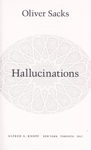 Cover of: Hallucinations