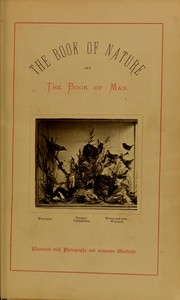 Cover of: The book of nature and the book of man | Charles Ottley Groom Napier