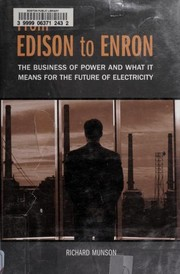 Cover of: From Edison to Enron |