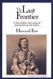 Cover of: The last frontier