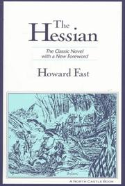 Cover of: The Hessian: a novel