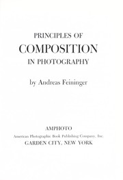 Cover of: Principles of composition in photography